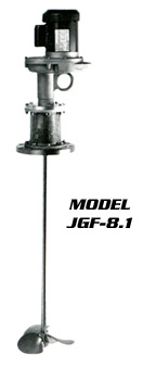 Flange,Mount,Portable,Mixers,Heavy,Duty,Series JGF,Neptune,Mixer,Company